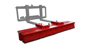 Blockbesen ecoLine  Anbaubesen Kehrmaschine Staplerbesen Stapler Radlader