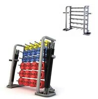 "BodyRip Studio Barbell & Weight Plate Rack Holder Up to 30 Sets 1"" Standard"