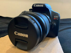 Canon EOS Rebel T6 18.0MP DSLR Camera with 18-55 mm and 75-300 mm Lenses
