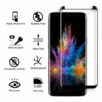 3X For Samsung Galaxy S9 S8 Plus Case Real Tempered Glass Screen Protector