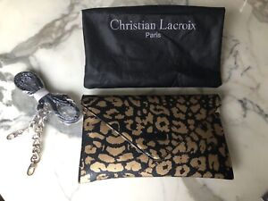Sac à main léopard gold CHRISTIAN LACROIX NEUF