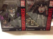 TRANSFORMERS Leader Class Megatron  And Skywarp Generations