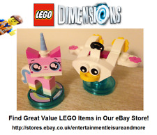 Genuine LEGO Dimensions Unikitty Fun Pack 71231 The LEGO Movie - FULLY COMPLETE