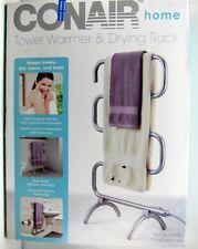 Conair PTW7 Towel Warmer and Drying Rack Satin Nickel Finish