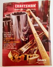 Vintage  CATALOG - SEARS CRAFTSMAN   Power and Hand Tools -  2008  - 2009