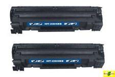 2PK Toner Cartridges For 78A CE278A HP LaserJet Pro M1536 MFP P1560 P1566 P1606