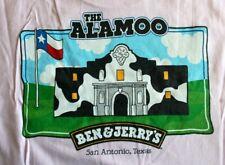 Ben & Jerry's Ice Cream San Antonio/Alamoo T-shirt Pink Excellent Condition M