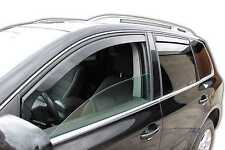DVW31148 VW  TOUAREG 2003-2010  wind deflectors 4pc set TINTED HEKO