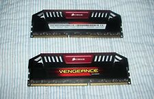 Corsair Vengeance Ram 16 GB (2x8GB) 2400MHz 11-13-13-31 1.65v ver. 6.29 used.