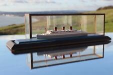 FURNESS BERMUDA LINE MONARCH OF BERMUDA BASSETT LOWKE CASED WATERLINE MODEL SHIP
