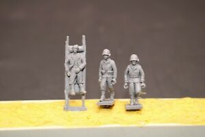1/72 Resin WWII US Wounded Soldiers Kit Unassembled Unpainted XH018