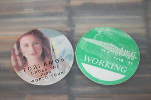Tori Amos - 2x backstage pass  - FREE SHIPPING -