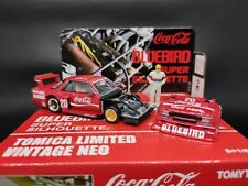 ANY OFFER Tomica Limited Vintage Neo Nissan Bluebird Super Silhouette Coke Red