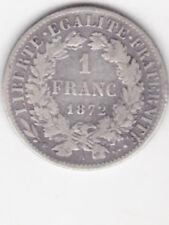 1 FRANC  CERES 1872  PETIT A   TTB