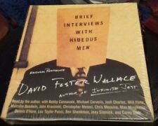 Brief Interviews with Hideous Men audio cd book David foster wallace BRAND NEW
