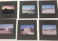 Lot Of 22 Vintage 1970 Mexico Vacation San Carlos Fishing  35mm Color Slides