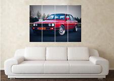 Large BMW E30 M3 Drift Series E36 E46 Classic Car Wall Poster Art Picture Print