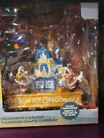 2020 Disney Parks Christmas Holiday Mickey & Minnie Castle Countdown Calendar