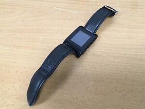 Pebble Classic Jet Black Case Silicone/Rubber Black