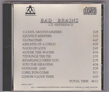 Bad Brains - God Of Love CD ACETATE / REFERENCE DISC H.R. Dr. Know Earl Darryl