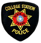 COLLEGE STATION TEXAS TX Sheriff Police Patch LONE STAR STATE SEAL ~