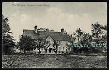 1914 Moore Cottage Hospital Bourton-on-the-Water Gloucestershire Postcard C309