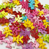 50/100/500pcs Baby Bear Plastic Buttons 2 Holes Sewing Craft 16mm PT110