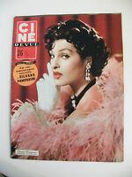 Ciné Revue N°21 Mai 1956 Silvana Pampanini