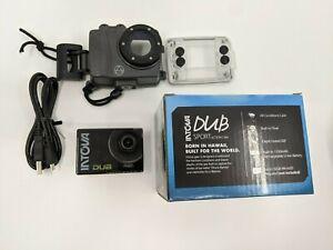 Intova DUB Waterproof Hi-Res 8MP/1080p Photo and Video Action Camera, Grey