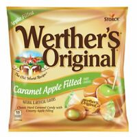 NEW Werther's Original Caramel Apple Filled Hard Candy Creamy Center 5 x bags***