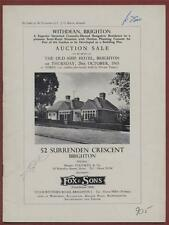 BRIGHTON. Withdean. 52 Surrenden Crescent.  1965. House Sale  Property  be.40