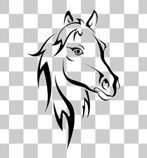 Horse Equestrian Novelty Funny Car Van Horse Box Decal Sticker