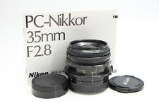Nikon PC-NIKKOR 35mm f2.8 35/2.8 SHIFT PERSPECTIVE Non-Ai Lens FREE SHIPPING