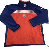 Adidas FC Bayern Munich Men's XL Soccer Football Futbol Vintage Fleece Jacket 99
