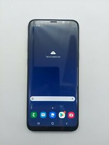 Samsung Galaxy S8+ G955U AT&T Unlocked 64GB Gray Cracked Back Clean ESN