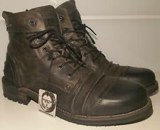 ★NEU★YELLOW CAB★46★Tear★Sergeant★Soldier★Stiefel★Boots★Schuhe★Stiefeletten★YCNY★