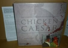 CHICKEN CAESAR Board Game & Fowl Play Expansion NEW