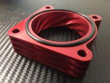 (X711-AR) RED Throttle Body Spacer  2007 - 2012 Nissan SENTRA SE-R SPEC V 2.5l