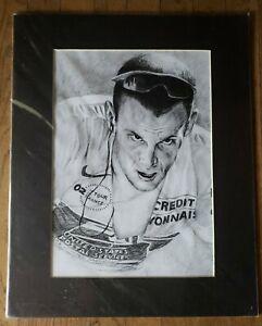 Lance Armstrong Tour de France Cycling Portrait 16 x 20 NEW