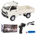 Kinder Weihnachtsgeschenk Spielzeug WPL D12 Mini 1/16 RC Auto Drift Truck Motor