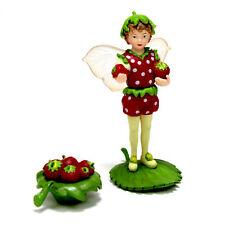Fairy Garden Mini - Secret Garden Flower Fairies - Strawberry