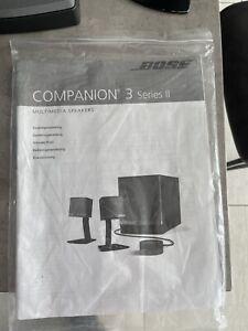 Bose Companion 3 Series II Lautsprecher-System - Schwarz