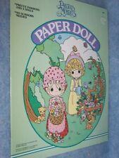 1992 Golden Book- Precious Moments Paper Doll #1685