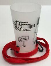 2019 World Scout Jamboree BELGIUM / BELGIAN SCOUTS Contingent PLASTIC CUP