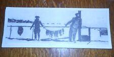 BENICIA GANTNER PENCIL SIGNED ART ETCHING 1993 TWENTY TWO FISH FISHERMEN CALIFOR