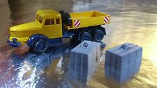 * Wiking 8514048 Krupp Trailer and Heavy Hauler Tractor Unit 1:87 Scale HO
