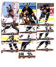 1X NY ISLANDERS 2000-01 Pacific FULL TEAM SET Lots Available Luongo