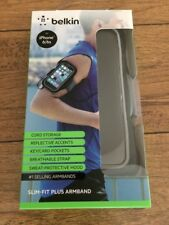 New! BELKIN Slim-Fit Plus Armband iPhone 6 / 6s Working Out Running Gym Biking