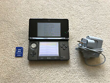 Black Nintendo 3DS Handheld System With Charger And SD Card
