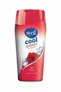150 GM Nycil Cool Gulabjal Powder For Instant Cooling With Rose Petals